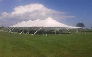 40 Foot Wide Pole Tent